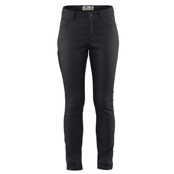 Fjallraven Womens High Coast Stretch Trousers Black