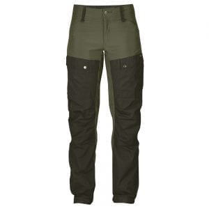 Fjallraven Womens Keb Trousers Regular Deep Forest/Laurel Green
