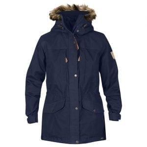 Fjallraven Womens Singi Winter Jacket Dark Navy