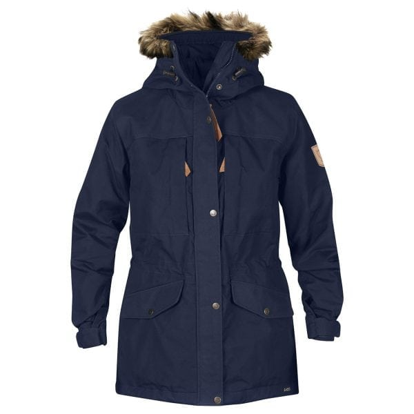 Fjallraven Womens Singi Winter Jacket Dark Navy