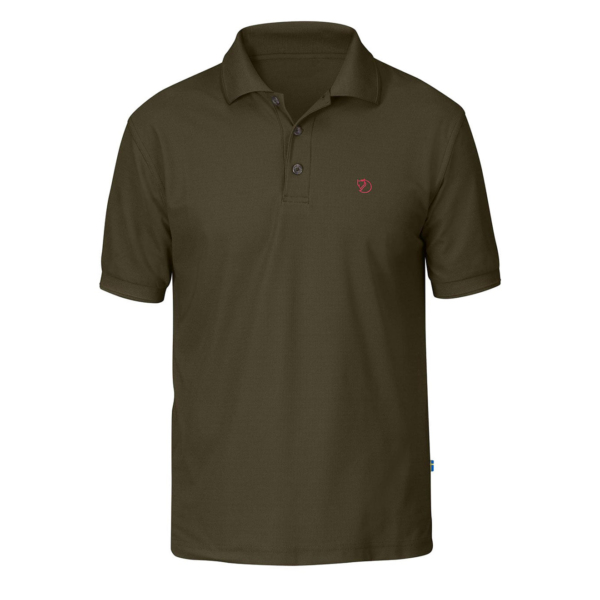 Fjallraven Crowley Pique Shirt Dark Olive