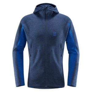 Haglofs Heron Hood Jacket Tarn Blue / True Black