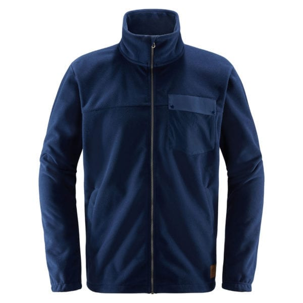 Haglofs Norbo Windbreaker Jacket Tarn Blue