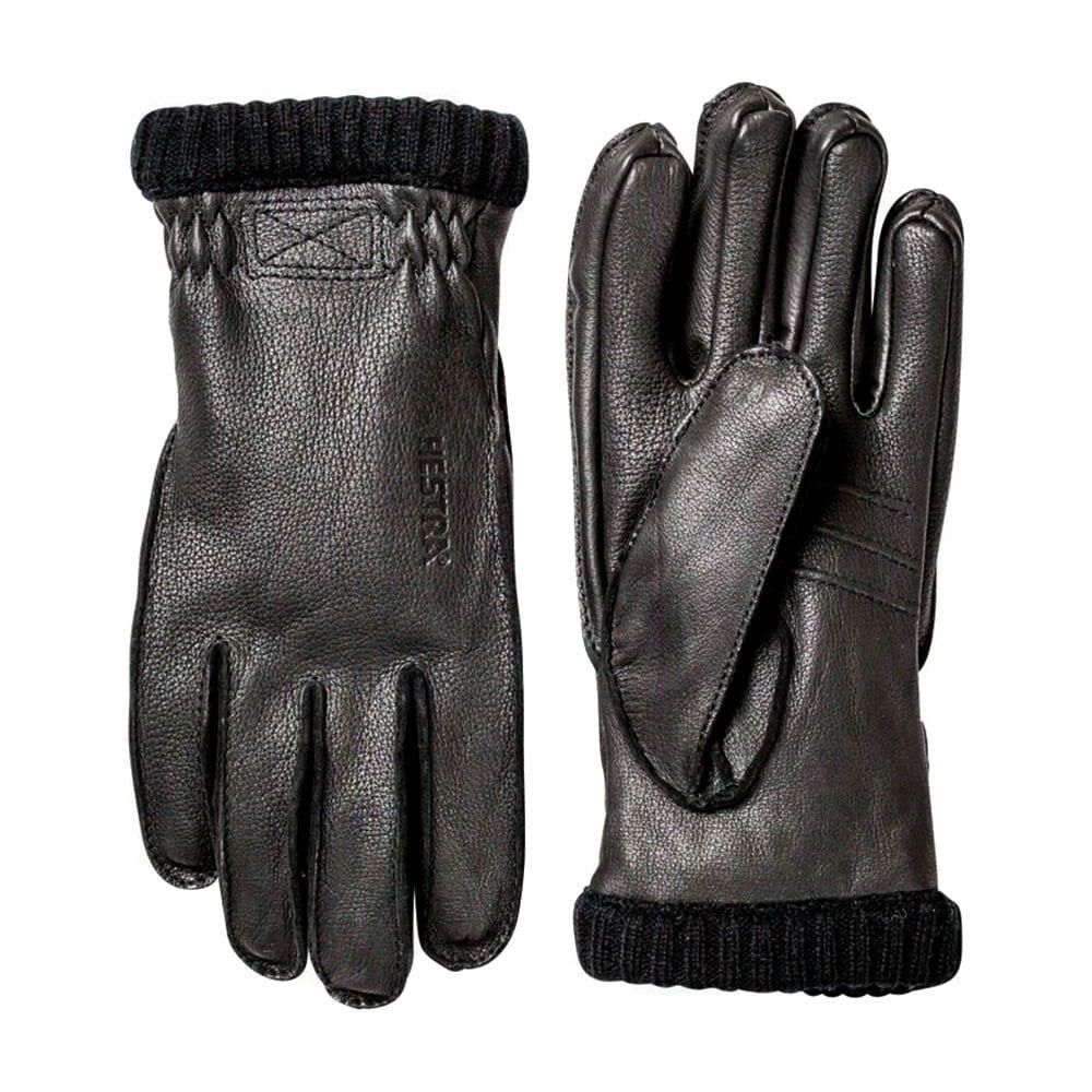 Hestra Deerskin Primaloft Rib Gloves Black