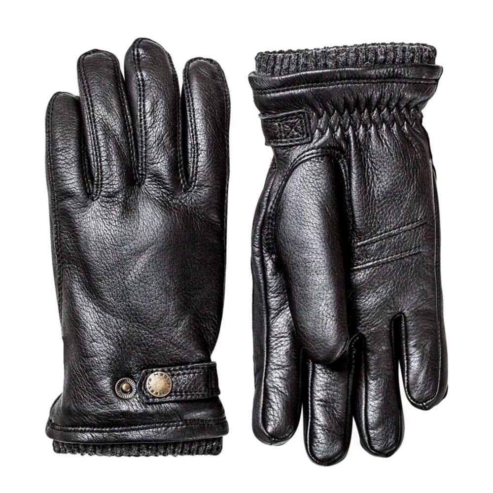 6361dcd4b4453 Hestra Utsjo Glove Black - The Sporting Lodge