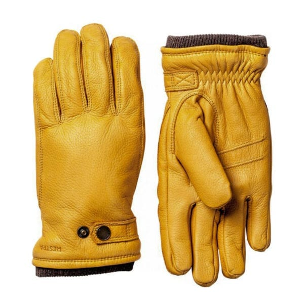 Hestra Utsjo Gloves Natural Yellow
