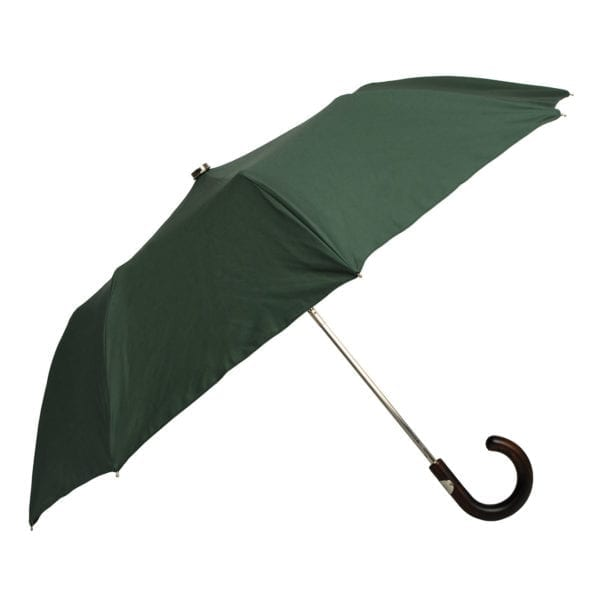 James Purdey Audley Mini Umbrella Maple Green