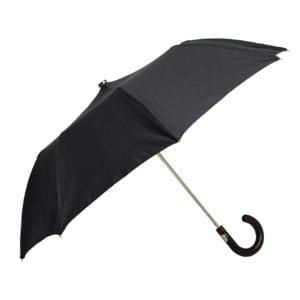 James Purdey Audley Mini Umbrella Maple Navy