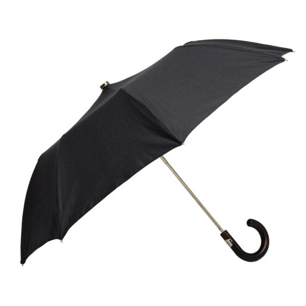James Purdey Audley Mini Umbrella Maple Navy
