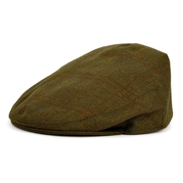 James Purdey Short Peek Tweed Cap Bembridge