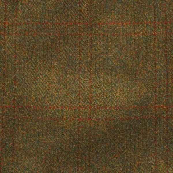 James Purdey Short Peek Tweed Cap Lomond