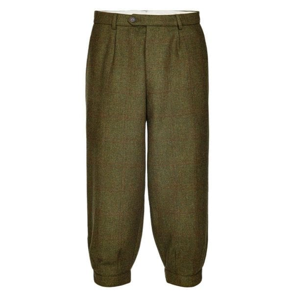 James Purdey Single Pleat Tweed Breeks Lomond