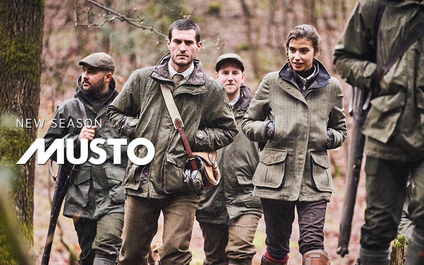 New In Musto at The Sporting Lodge