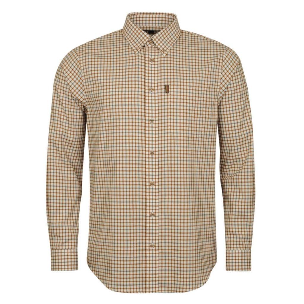 Musto Classic Button Down Shirt Keldy Tabac