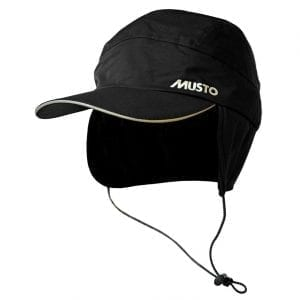 Musto Fleece Lined Waterproof Cap Black