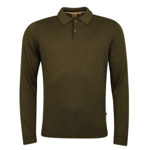 Musto Polo Collar Knit Moss