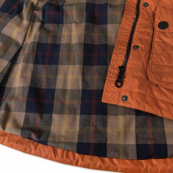 Musto Womens Burford Primaloft Quilted Jacket Burnt Sienna