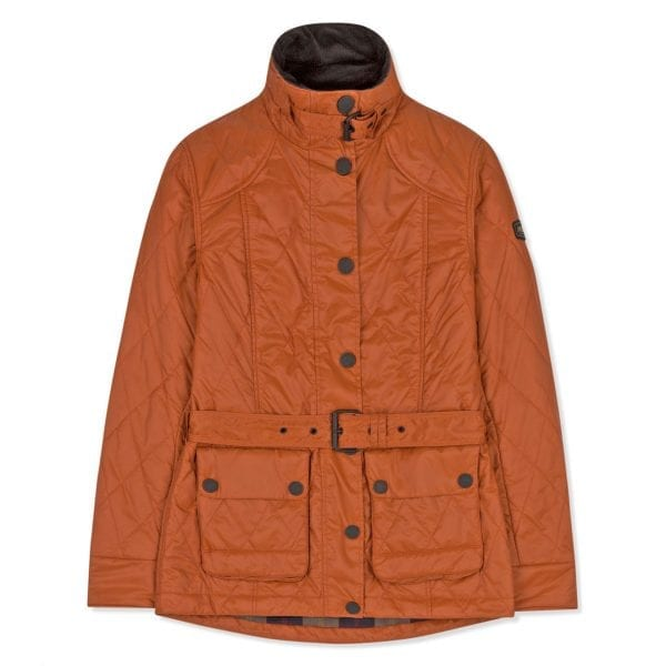 Musto Womens Burford Primaloft Quilted Jacket Burnt Sienna