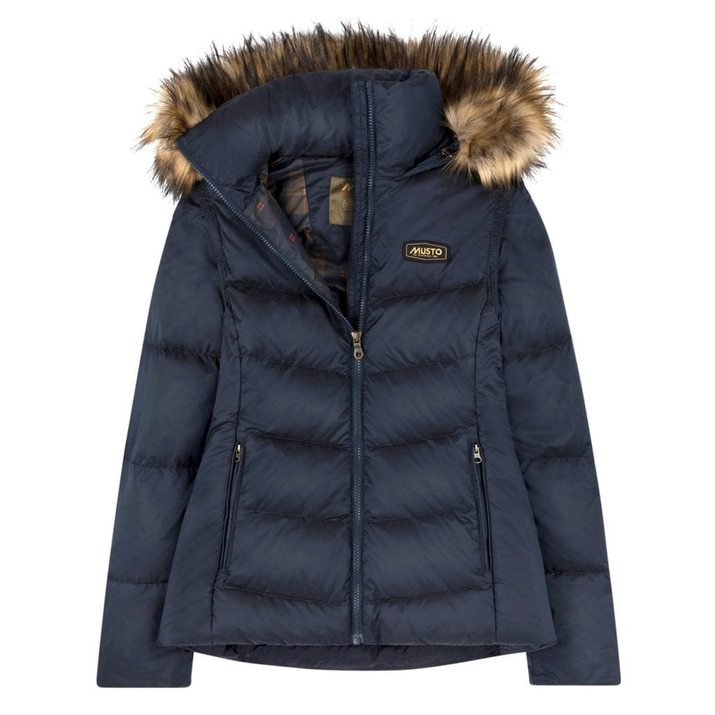Musto Womens Burghley Quilted 2 in 1 Jacket True Navy