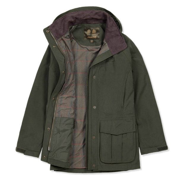 Musto Womens Burnham Jacket Dark Moss