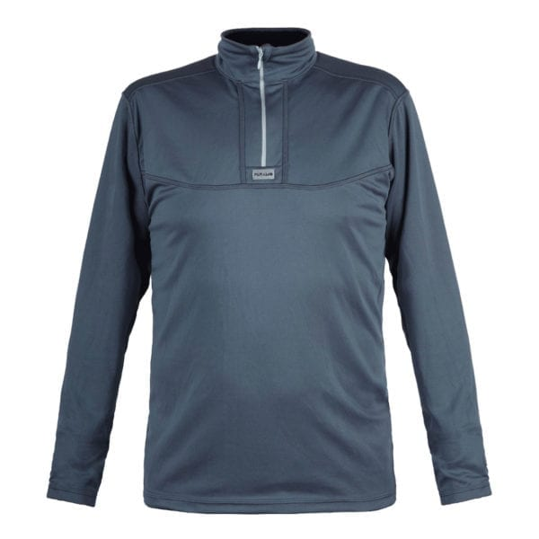 Paramo Cambia Zip Neck Sweat Dark Grey / Black
