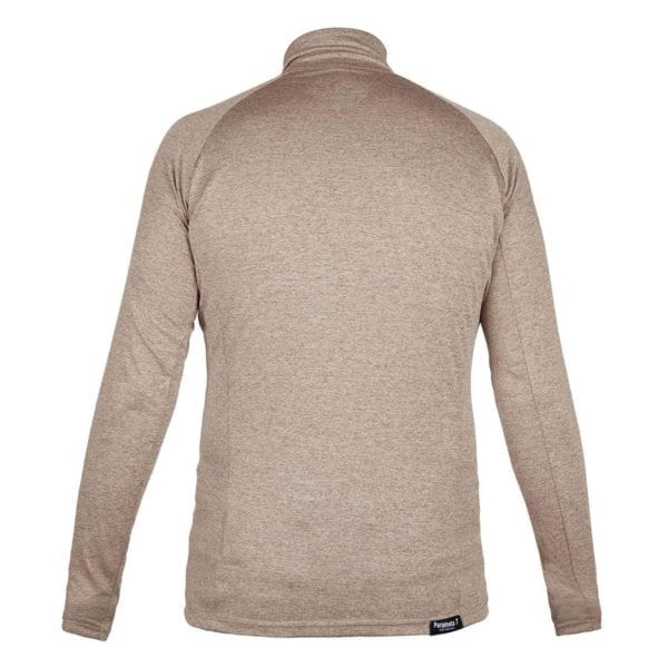 Paramo Tempro Zip Neck Sweat Fossil Marl