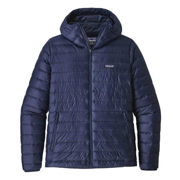 Patagonia Down Sweater Hoody Jacket Classic Navy