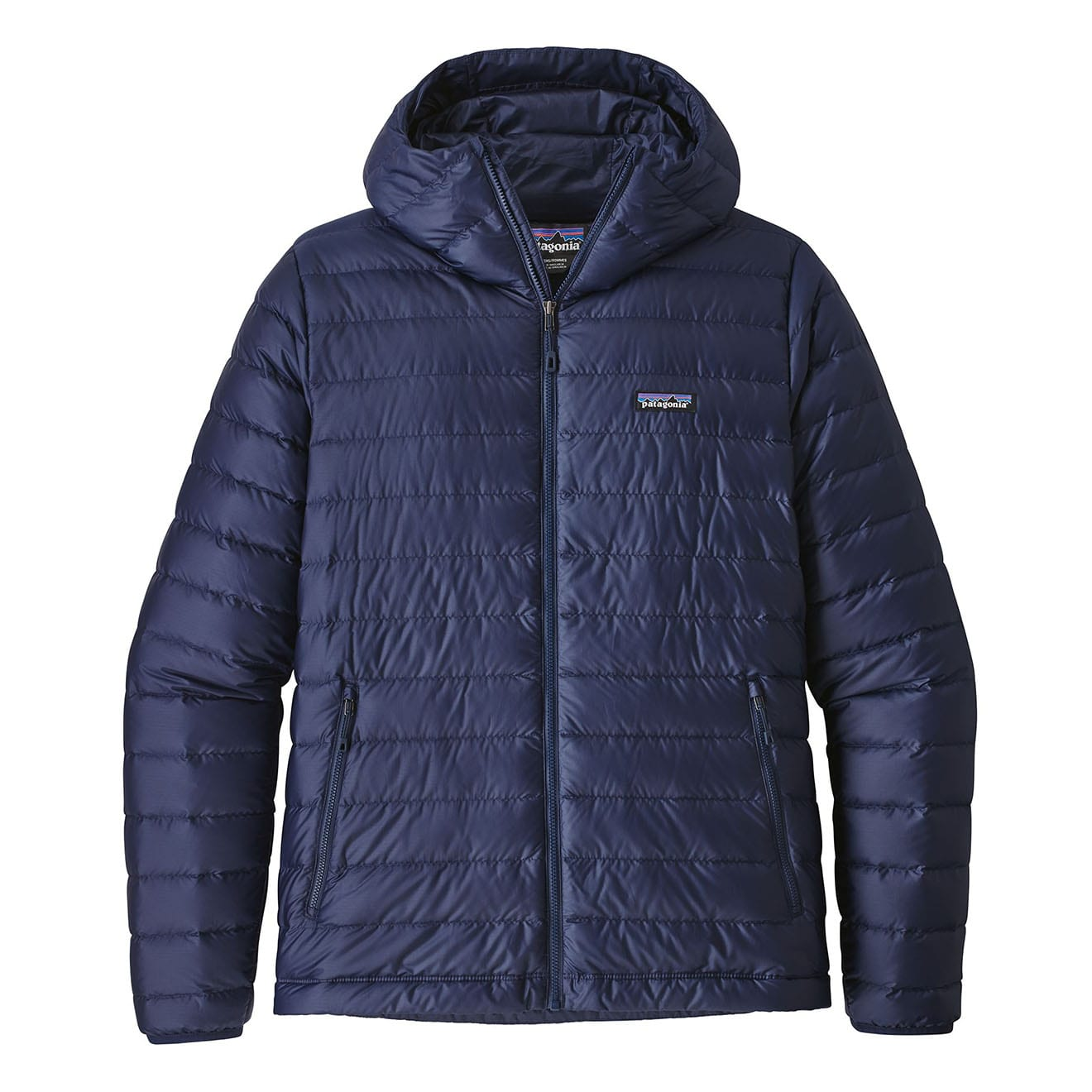 Patagonia Down Sweater Hoody Jacket Classic Navy The