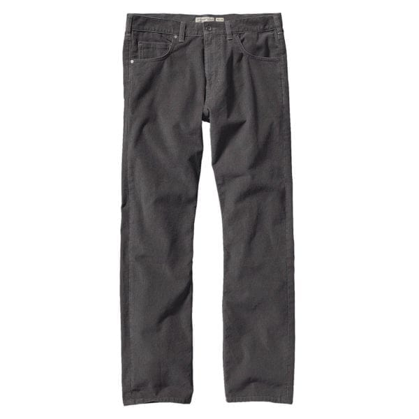 Patagonia Straight Fit Cords Reg Leg Forge Grey
