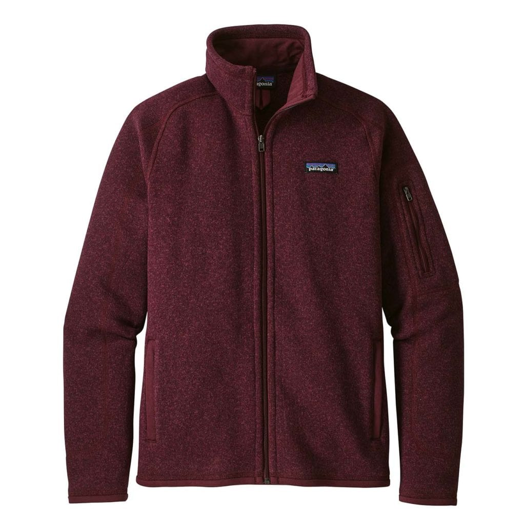 Patagonia Womens Better Sweater Fleece Jacket Dark Currant