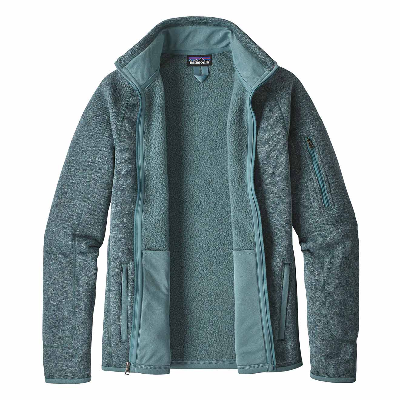 Patagonia Womens Better Sweater Fleece Jacket Shadow Blue The