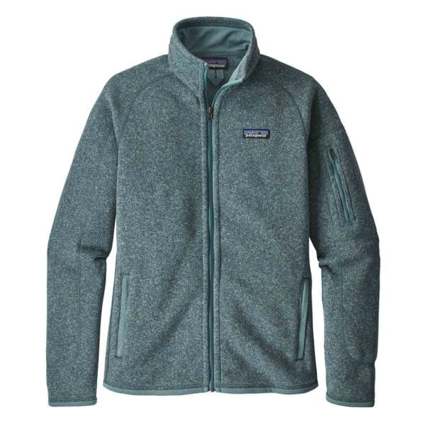 Patagonia Womens Better Sweater Fleece Jacket Shadow Blue