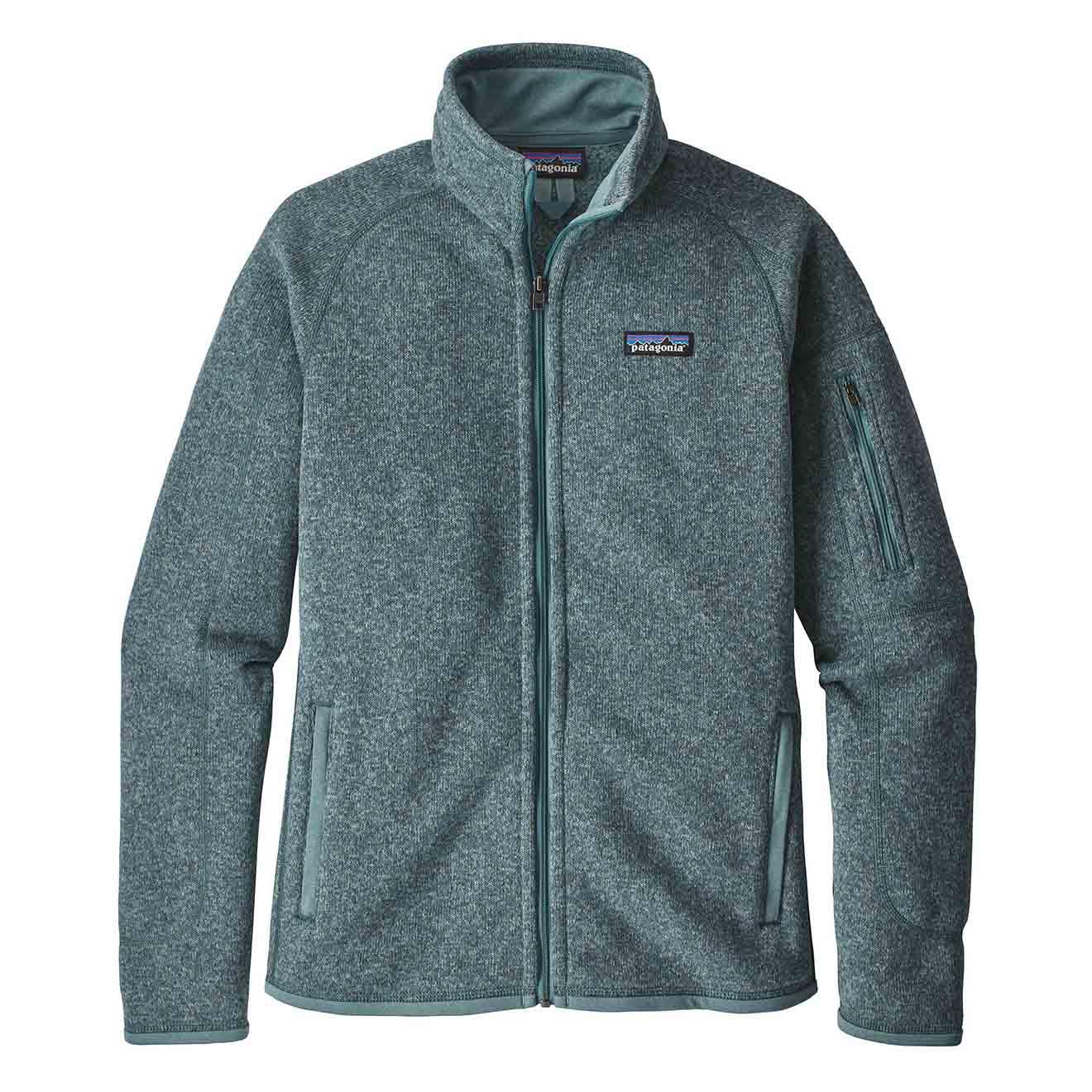 Patagonia Womens Better Sweater Fleece Jacket Shadow Blue ...
