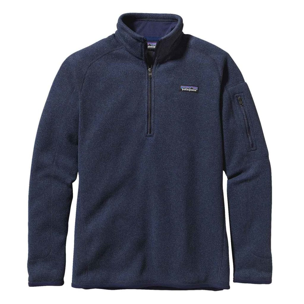 Patagonia Womens Better Sweater Fleece 1/4 Zip Classic Navy