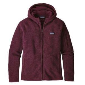 Patagonia Womens Better Sweater Hoody Dark Currant