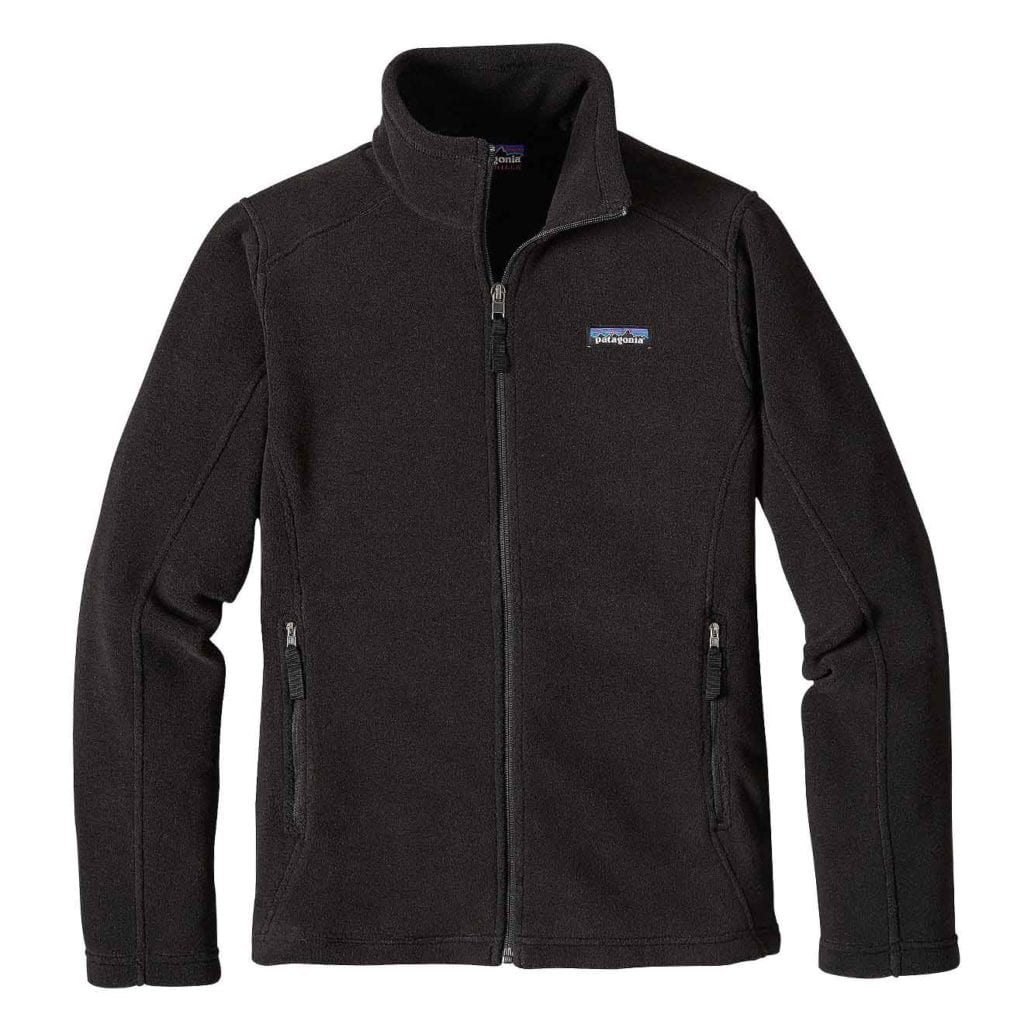 Patagonia Womens Classic Synchilla Fleece Jacket Black
