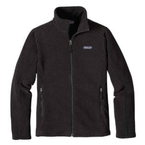 Patagonia Womens Classic Synchilla Fleece Jacket Black