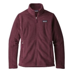 Patagonia Womens Classic Synchilla Fleece Jacket Dark Currant