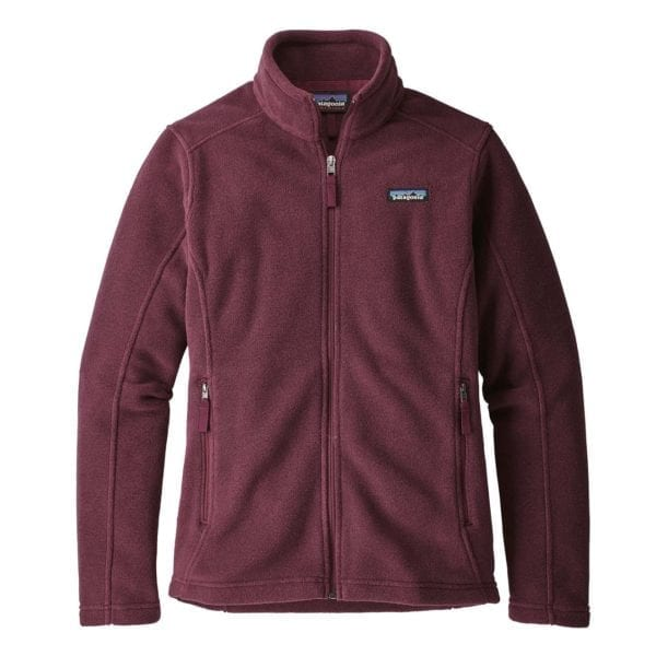 Patagonia Womens Classic Synchilla Fleece Jacket Dark Currant
