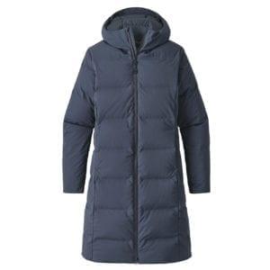 Patagonia Womens Jackson Glacier Parka Jacket Smolder Blue