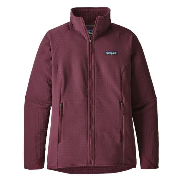 Patagonia Womens R2 TechFace Jacket Dark Currant