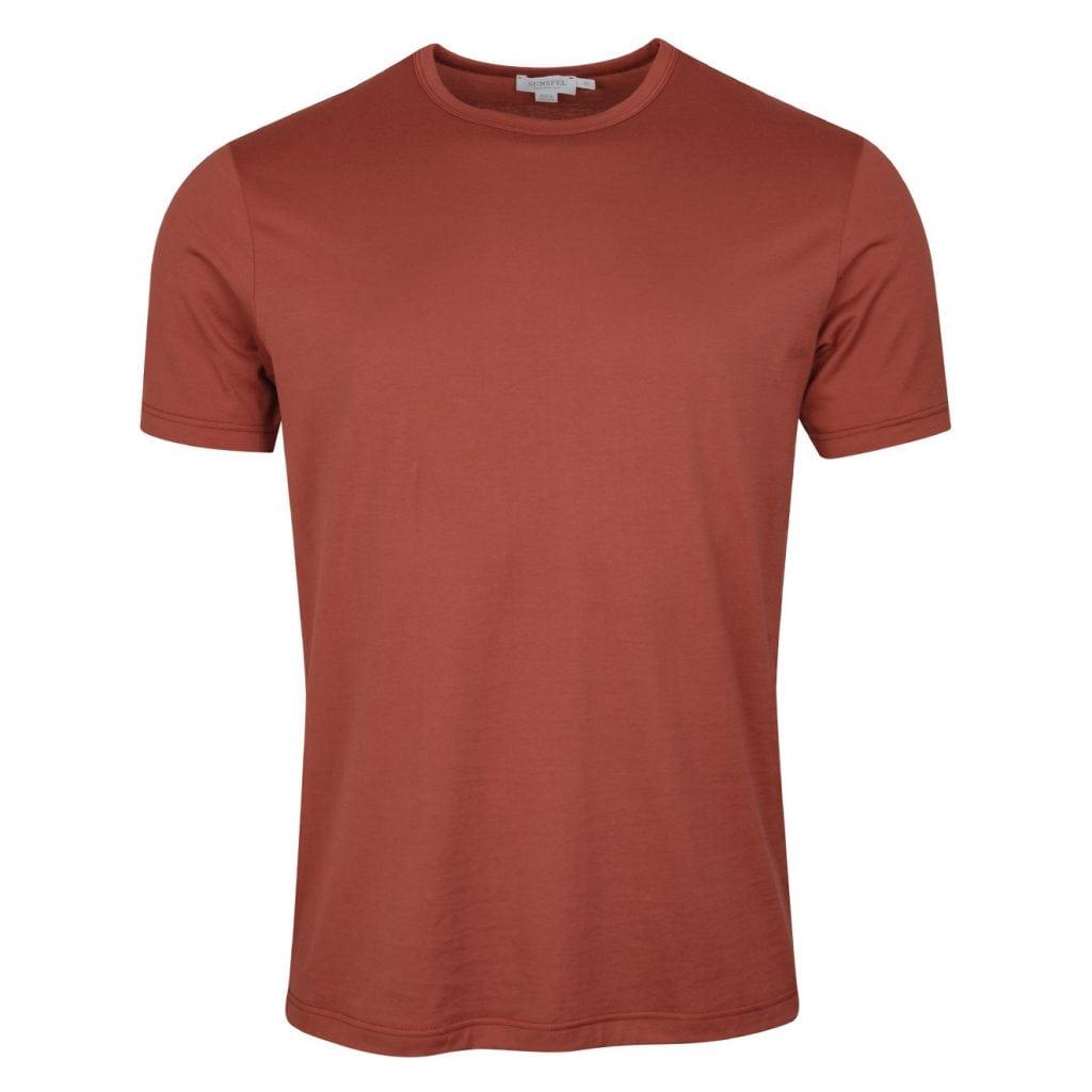 Sunspel Classic Crew T-Shirt Samian