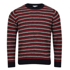 Sunspel Fairisle Crew Neck Knit