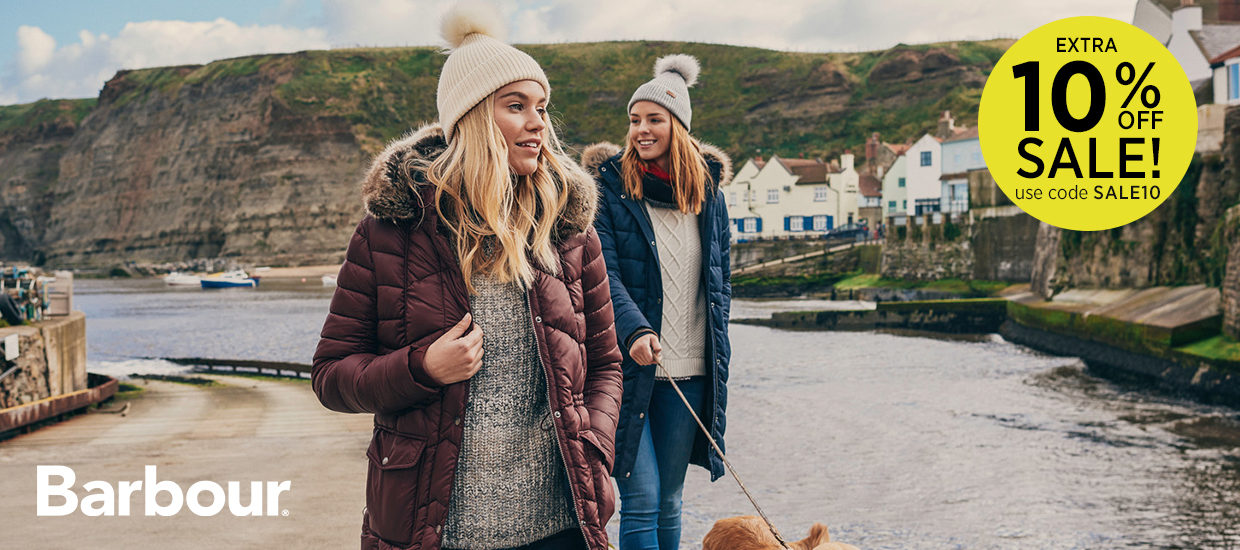 Extra 10% off Barbour Sale - Use Code SALE10