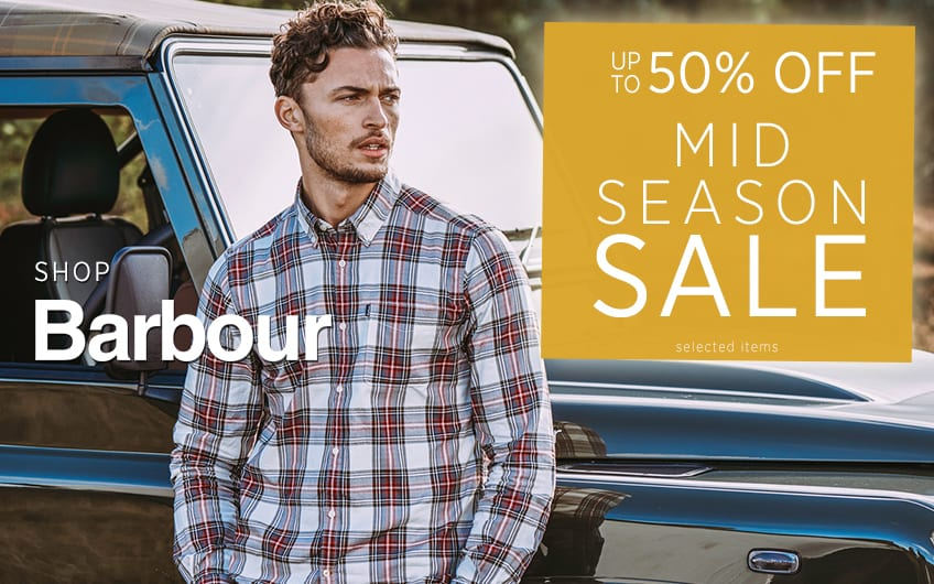 Up To 50% off Barbour - Mid Season Sale