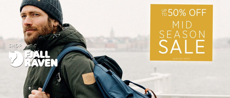 Up To 50% off Fjallraven - Mid Season Sale
