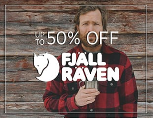 up to 50% off Fjällräven - Mid Season Sale at The Sporting Lodge