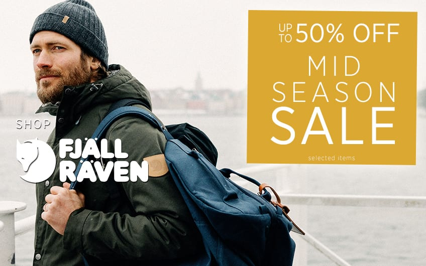Up To 50% off Fjallraven - Mid Season Sale at The Sporting Lodge