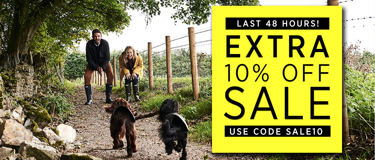EXTRA 10% OFF Mid Season Sale at The Sporting Lodge