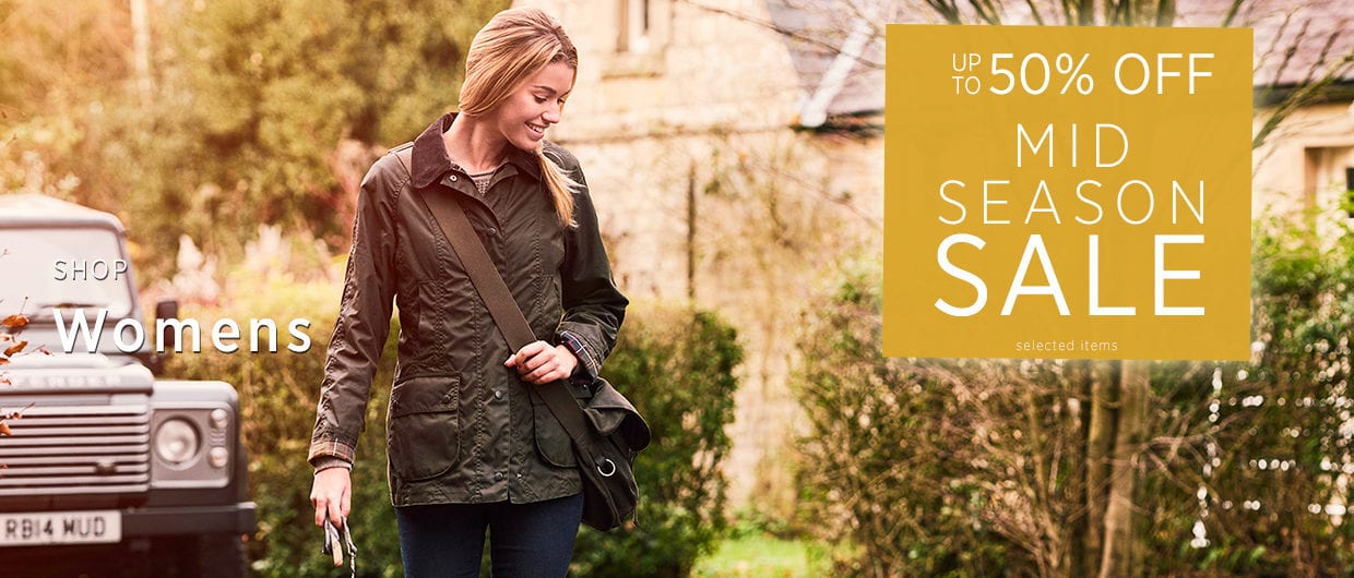 Up To 70% off Womens - Mid Season Sale at The Sporting Lodge